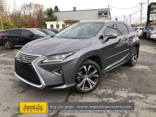 Used 2017 Lexus RX 350 LOADED  LEATHER  ROOF  HUD  MARK LEVINSON for sale in Ottawa, ON