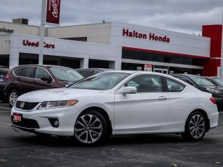 Used 2015 Honda Accord EXL V6|NO ACCIDENTS for sale in Burlington, ON