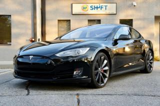 Used 2015 Tesla Model S P85D AUTOPILOT, HIFI, SUB ZERO, PERFORMANCE PLUS, CPO! for sale in Burlington, ON