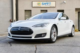 Used 2015 Tesla Model S P90DL AUTOPILOT, LUDICROUS, SUBZERO, CPO WARRANTY for sale in Burlington, ON