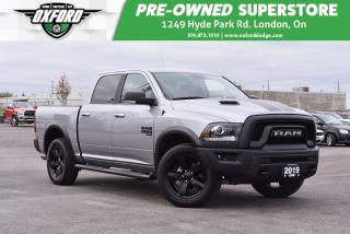 Used 2019 RAM 1500 Classic SLT - One Owner, GPS, Bedliner for sale in London, ON