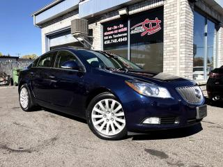 Used 2012 Buick Regal Berline 4 portes Turbo avec 1SP CUIR TOI for sale in Longueuil, QC