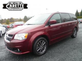 Used 2017 Dodge Grand Caravan Sxt premium plus tv-dvd-gps for sale in East broughton, QC