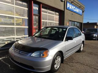Used 2003 Honda Civic Sdn DX-G for sale in Kitchener, ON