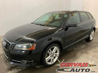 Used 2012 Audi A3 2.0T Progressiv Cuir Toit panoramique MAGS for sale in Shawinigan, QC