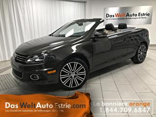 Used 2015 Volkswagen Eos Wolfsburg Edition, Cuir, Convertible, Automatique for sale in Sherbrooke, QC