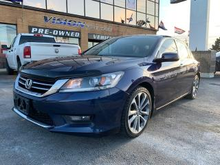 Used 2014 Honda Accord Sedan 4dr I4 CVT Sport for sale in North York, ON