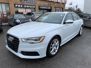 Used 2012 Audi A6 4dr Sdn quattro 3.0T Premium Plus/ NAVIGATION for sale in North York, ON