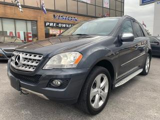 Used 2010 Mercedes-Benz ML-Class 4MATIC 4dr ML350 BlueTEC NAVIGATION/BACK-UP CAM for sale in North York, ON