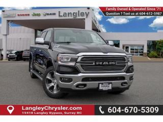 Used 2019 RAM 1500 Laramie *PANO ROOF* *12'' SCREEN* for sale in Surrey, BC