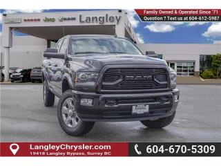 Used 2018 RAM 3500 Laramie *LOADED LARAMIE* *SPORT APPEARANCE GROUP* for sale in Surrey, BC