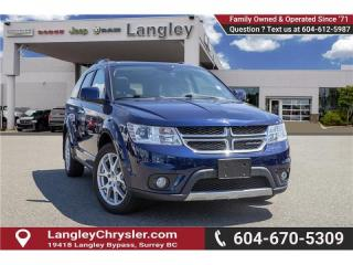 Used 2017 Dodge Journey GT - Navigation - Leather Seats for sale in Surrey, BC