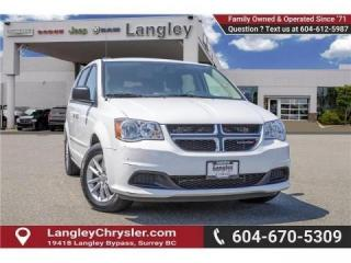 Used 2017 Dodge Grand Caravan CVP/SXT -  Uconnect for sale in Surrey, BC