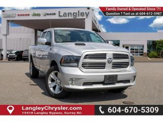 Used 2015 RAM 1500 Sport *LIGHT LOAD SPORT* for sale in Surrey, BC