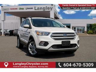 Used 2018 Ford Escape SE - Bluetooth -  Heated Seats for sale in Surrey, BC
