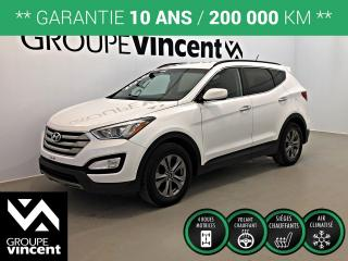 Used 2016 Hyundai Santa Fe SPORT PREMIUM AWD ** GARANTIE 10 ANS ** Confortable et agréable à conduire! for sale in Shawinigan, QC