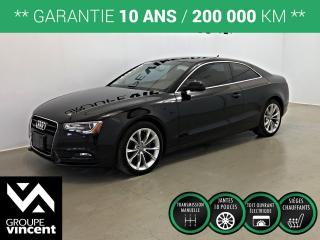 Used 2013 Audi A5 2.0T QUATRO ** GARANTIE 10 ANS ** Look sportif et élégant! for sale in Shawinigan, QC