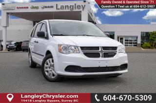 Used 2016 Dodge Grand Caravan SE/SXT - Low Mileage for sale in Surrey, BC