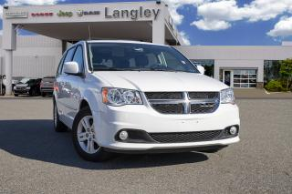 Used 2016 Dodge Grand Caravan Crew *BACKUP CAMERA* *NAVI* *POWER DOORS & GATE* for sale in Surrey, BC