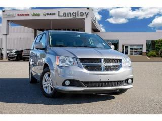 Used 2016 Dodge Grand Caravan Crew *DVD* *POWER DOORS & LIFT GATE* for sale in Surrey, BC