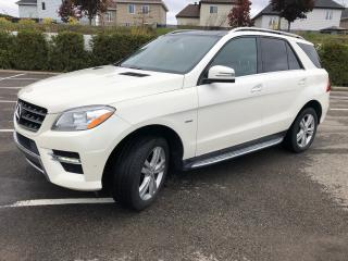 Used 2012 Mercedes-Benz ML 350 ML 350 BlueTEC for sale in St-Eustache, QC