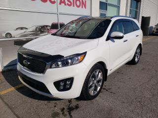 Used 2016 Kia Sorento SX AWD V6 7 PASSAGER CUIR, TOIT PANORAMIQUE, 7 PASSAGERS for sale in Montréal, QC