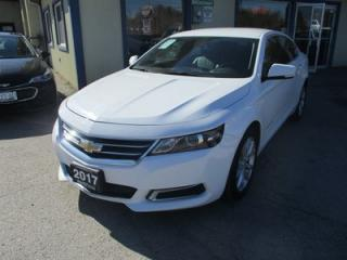 Used 2017 Chevrolet Impala FUEL EFFICIENT 1-LT EDITION 5 PASSENGER 2.5L - ECO-TEC.. LEATHER TRIM.. TOUCH SCREEN.. AUX/USB INPUT.. BLUETOOTH SYSTEM.. for sale in Bradford, ON