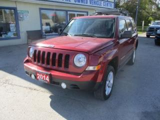 Used 2014 Jeep Patriot WINTER READY NORTH-EDITION 5 PASSENGER 2.4L - DOHC.. 4X4.. HEATED SEATS.. TOUCH SCREEN.. BLUETOOTH.. ROOF RACK.. for sale in Bradford, ON