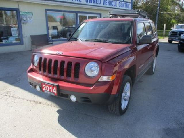 2014 Jeep Patriot WINTER READY NORTH-EDITION 5 PASSENGER 2.4L - DOHC.. 4X4.. HEATED SEATS.. TOUCH SCREEN.. BLUETOOTH.. ROOF RACK..