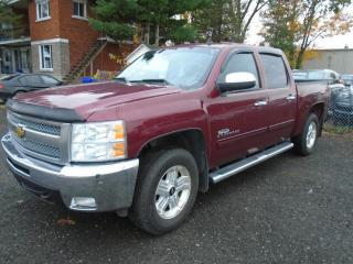 Used 2013 Chevrolet Silverado 1500 4 RM, Cabine multiplaces 143,5 po, LT for sale in Mirabel, QC
