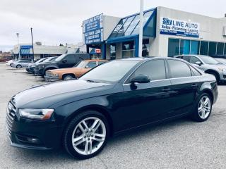 Used 2013 Audi A4 2.0T Premium Plus NAVIGATION|AWD|PREMIUM|2.0 TURBO|ACCIDENT FREE for sale in Concord, ON