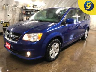 Used 2019 Dodge Grand Caravan Crew Plus * Garmin navigation * Stow N Go * Secondrow overhead 9inch VGA video screen * Leatherfaced seats with perforated inserts * 3.6L Pentastar for sale in Cambridge, ON