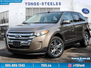 Used 2013 Ford Edge Limited for sale in Thornhill, ON