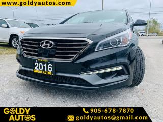Used 2016 Hyundai Sonata 4DR SDN 2.0T AUTO SPORT ULTIMATE for sale in Mississauga, ON