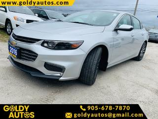Used 2016 Chevrolet Malibu 4dr Sdn LT w/1LT for sale in Mississauga, ON