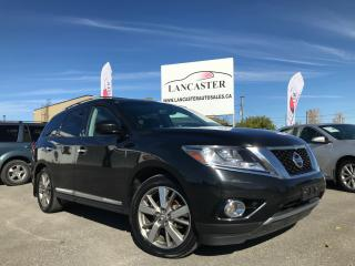 Used 2015 Nissan Pathfinder Platinum for sale in Ottawa, ON