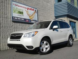 Used 2015 Subaru Forester I*camera*awd*bluetooth for sale in Richelieu, QC