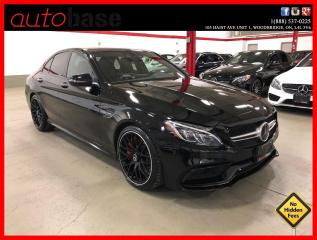 Used 2016 Mercedes-Benz C-Class C63S AMG NIGHT DISTRONIC PREMIUM AMG PERFORMANCE SEATS for sale in Vaughan, ON