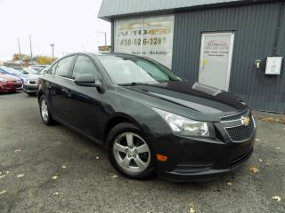 Used 2012 Chevrolet Cruze ***LT,AUTOMATIQUE,MAGS,A/C,BLUETOOTH*** for sale in Longueuil, QC