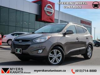 Used 2011 Hyundai Tucson GLS  - Trade-in - Air - Tilt for sale in Kanata, ON