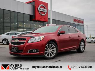 Used 2013 Chevrolet Malibu LT  - Trade-in - One owner for sale in Kanata, ON