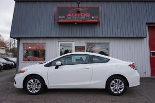 Used 2014 Honda Civic LX 5 VITESSES FULL ÉQUIPÉ BLUETOOTH SIÈGES 104 950 for sale in Lévis, QC