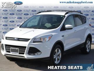 Used 2016 Ford Escape SE  - Bluetooth -  SiriusXM -  Heated Seats for sale in Welland, ON