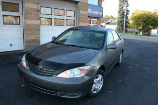 Used 2004 Toyota Camry LE for sale in Nepean, ON