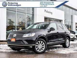 Used 2016 Volkswagen Touareg SPORTLINE!! 4MOTION AWD!! for sale in Pickering, ON