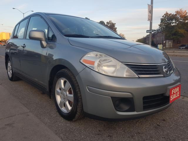 2007 Nissan Versa 1.8 S-EXTRA CLEAN-4 CYL-AMAZING ON GAS-AUX-ALLOYS