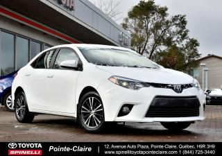 Used 2016 Toyota Corolla LE UPGRADE MAGS, TOIT, SIÈGES CHAUFFANT for sale in Pointe-Claire, QC