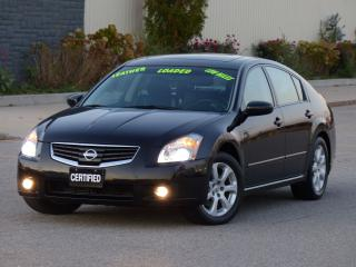 Used 2007 Nissan Maxima LEATHER,HEATED SEATS,BOSE AUDIO,LOADED,NO-ACCIDENT for sale in Mississauga, ON