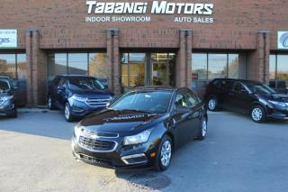 Used 2015 Chevrolet Cruze LT | BIG SCREEN | REAR CAM | REMOTE STARTER | CRUISE | BT for sale in Mississauga, ON