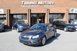 Used 2015 Chevrolet Cruze LT I BIG SCREEN I REAR CAM I REMOTE STARTER | CRUISE I BT for sale in Mississauga, ON